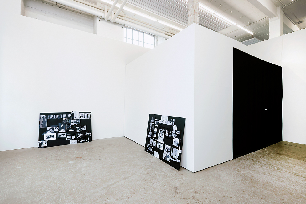 I, an archeologist. Exhibition view, 2014
