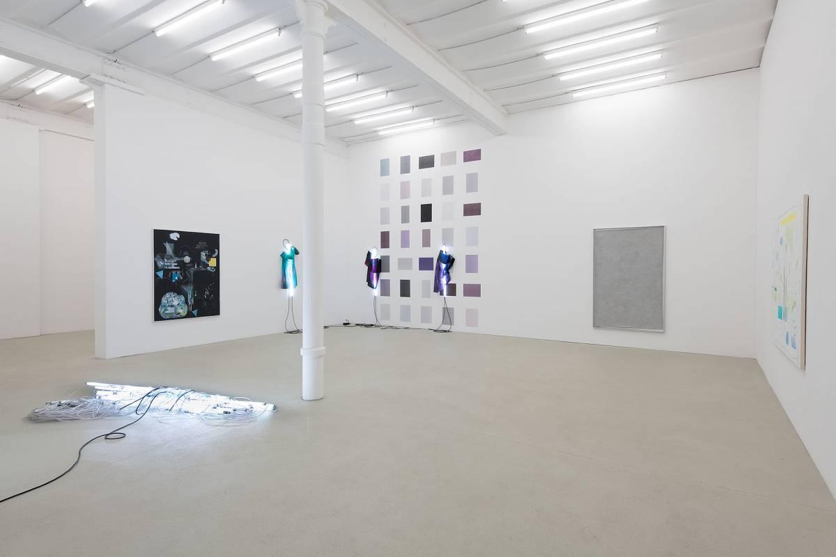 chromo-. Ausstellungsansicht, 2019 Foto: Stefan Fischer