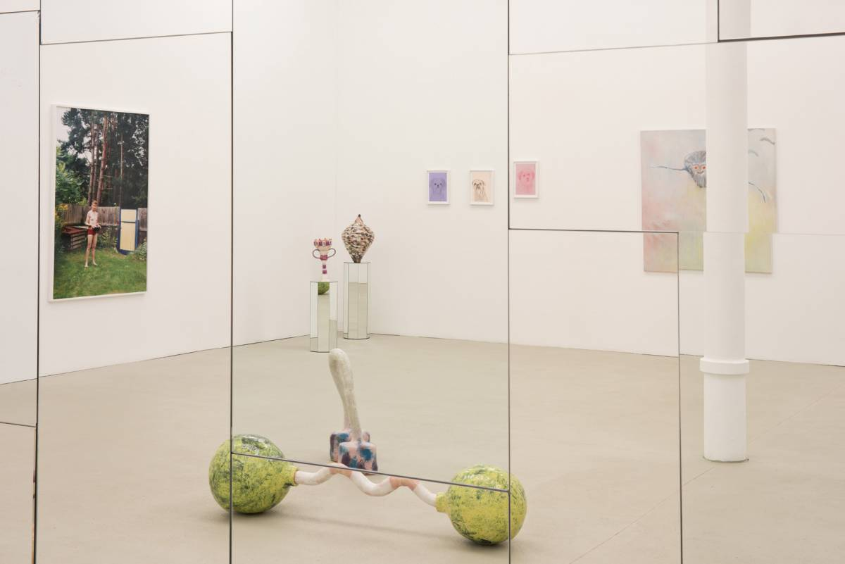 Grit Hachmeister: Ach. Exhibition view, 2019