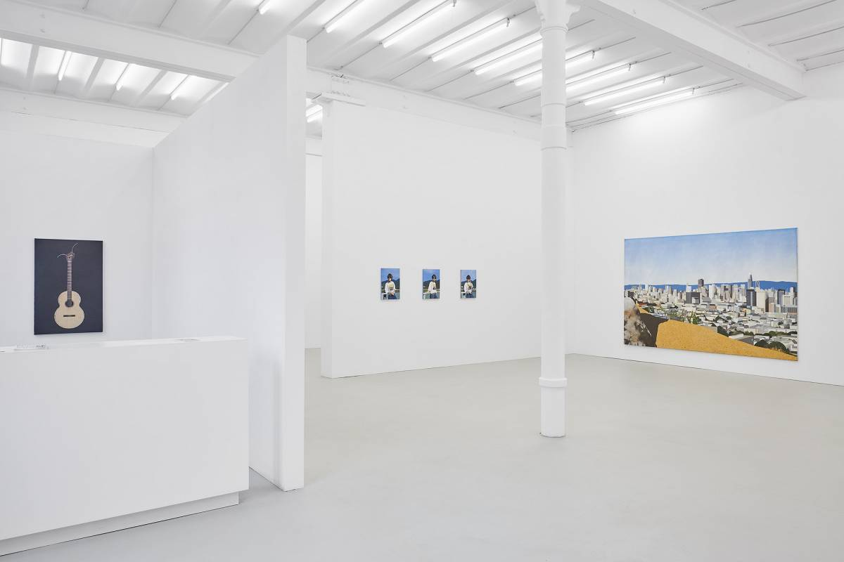 Robert Seidel: Schwere Kraft. Exhibition view 2020